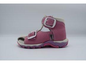 Dětský sandál N850/901 růžová