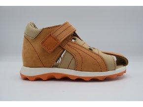 Dětský sandál D08002 oranžová
