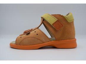 Dětský sandál 80092 oranžová