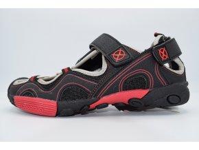 Dětský sandál Axim černá