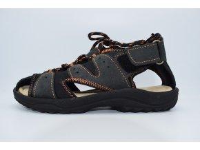 Dětský sandál 067-6001 dark grey