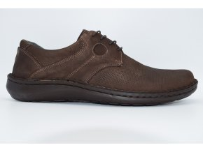 Pánská vycházková obuv Deverick dark brown