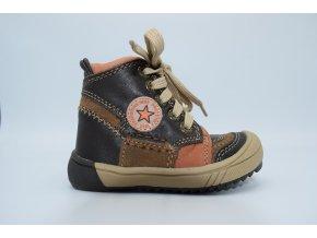 Dětská kotníková obuv Faustino Brown