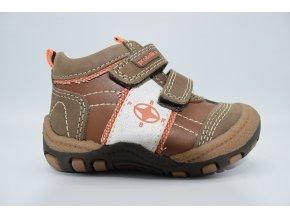 Dětská kotníková obuv Bak brown