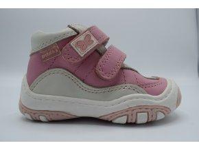 Dětská kotníková obuv Dena biele