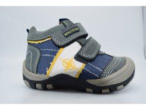 Dětská kotníková obuv Bak yellow