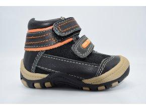 Dětská kotníková obuv Ove čierné