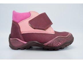 Dětská kotníková obuv E 1002 bordo
