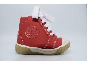 Dětská kotníková obuv M 1303 Červená