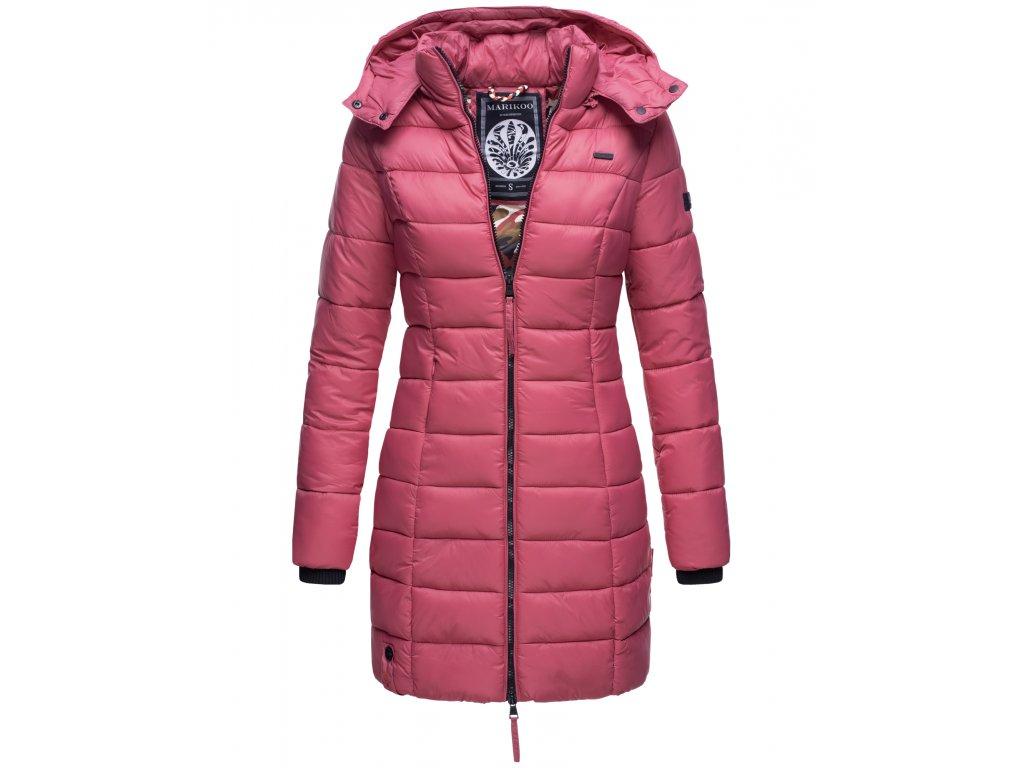 Dámska zimná bunda s kapucňou Abendsternchen Marikoo - BERRY