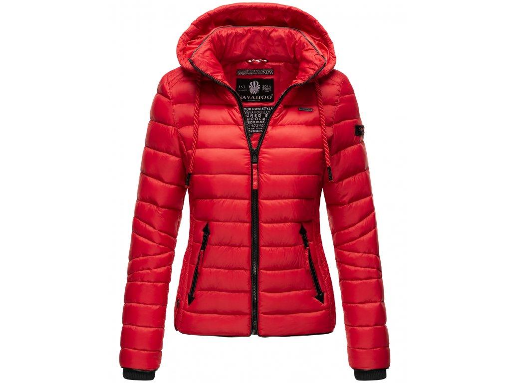 Dámska jarná / jesenná bunda Lulana Navahoo - RED