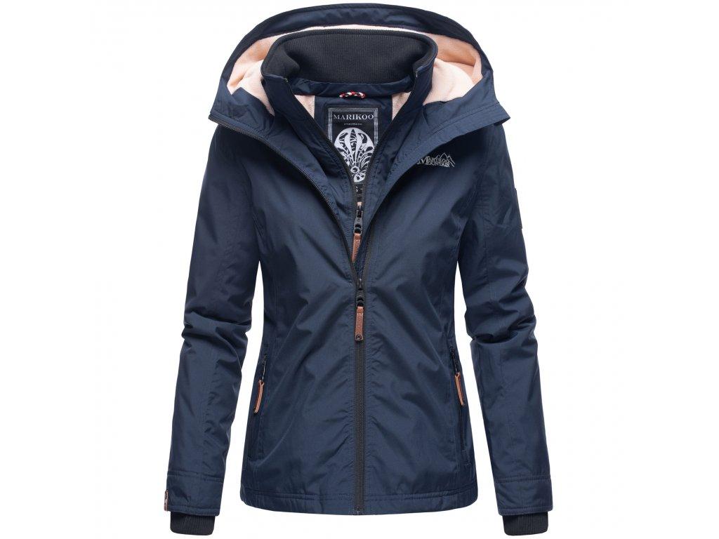 Dámska outdoorová bunda s kapucňou Eerdbeere Marikoo - NAVY