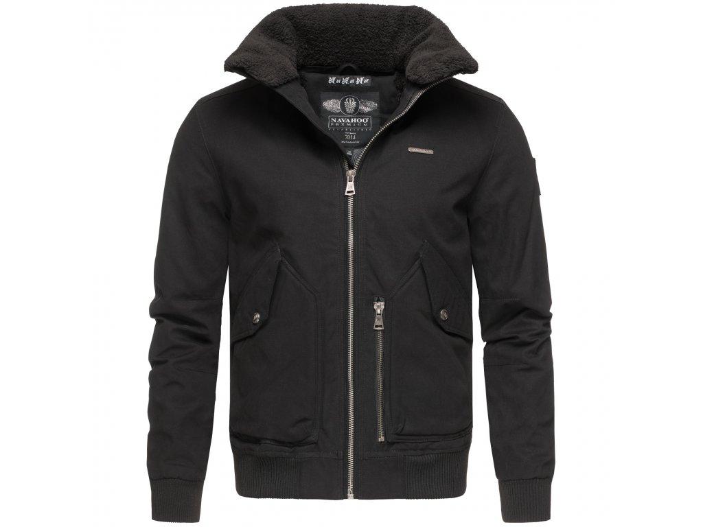 Pánska zimná bunda JIM Marikoo - BLACK