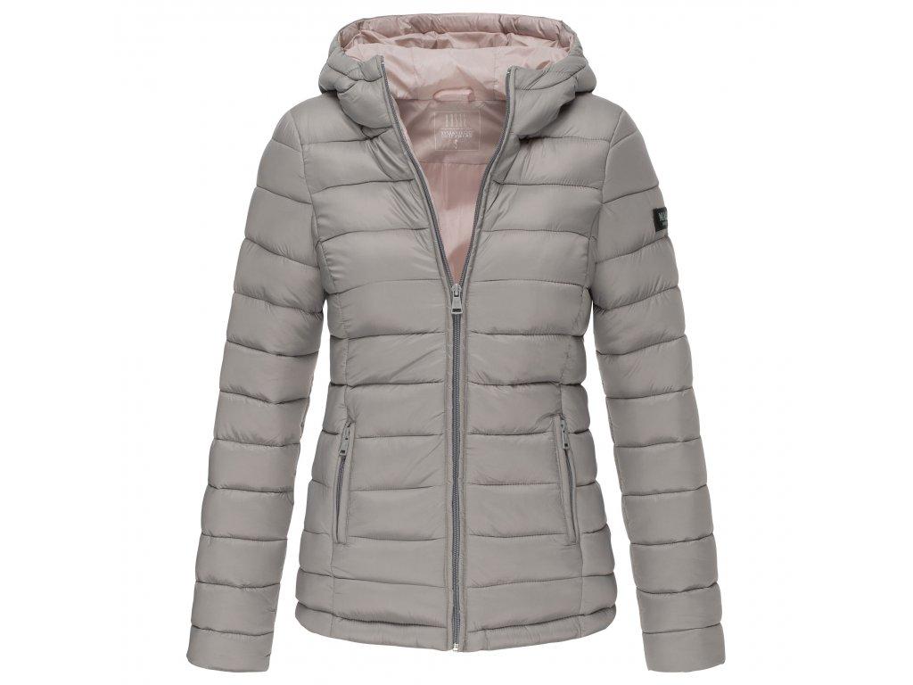 Dámska bunda s kapucňou Lucy Marikoo - GREY