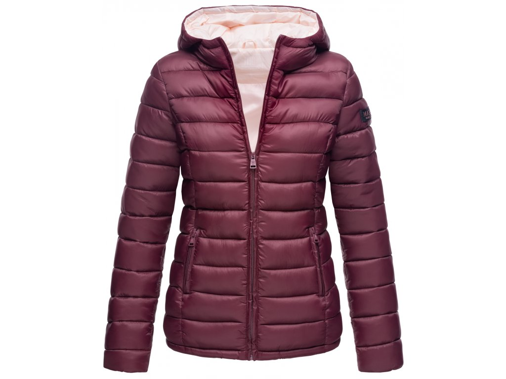Dámska bunda s kapucňou Lucy Marikoo - WINE