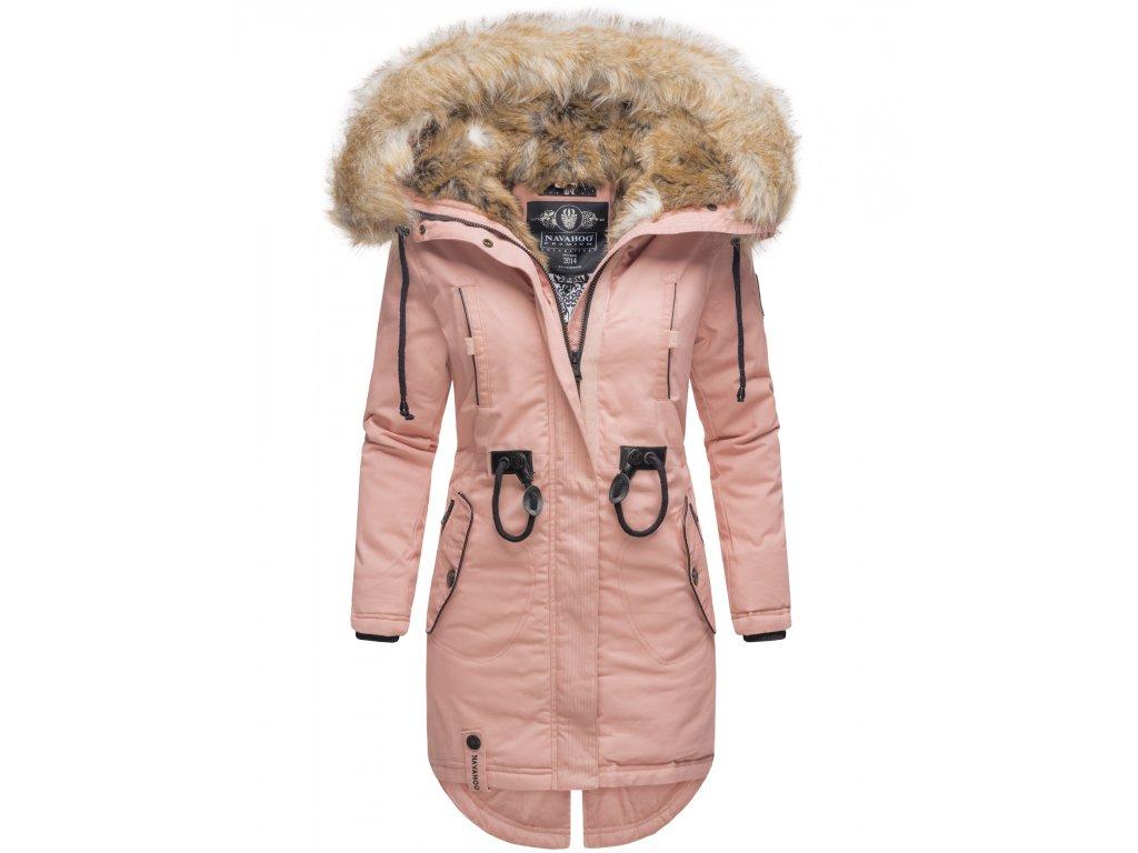 Dámska zimná dlhá bunda Bombii Navahoo - ROSE