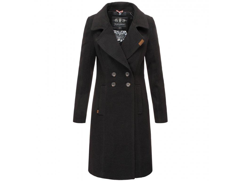 Dámsky zimný kabát Wooly Navahoo - BLACK