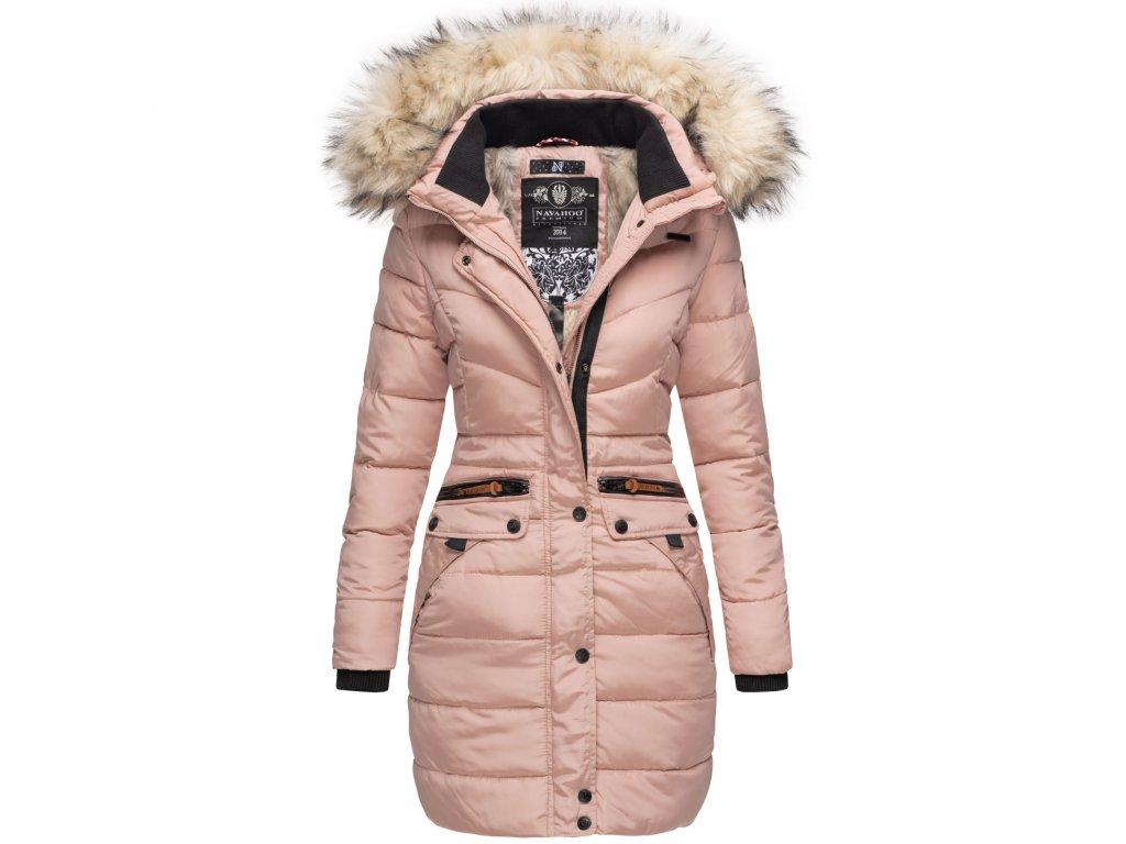 Dámska zimná dlhá bunda Paula Navahoo - ROSE