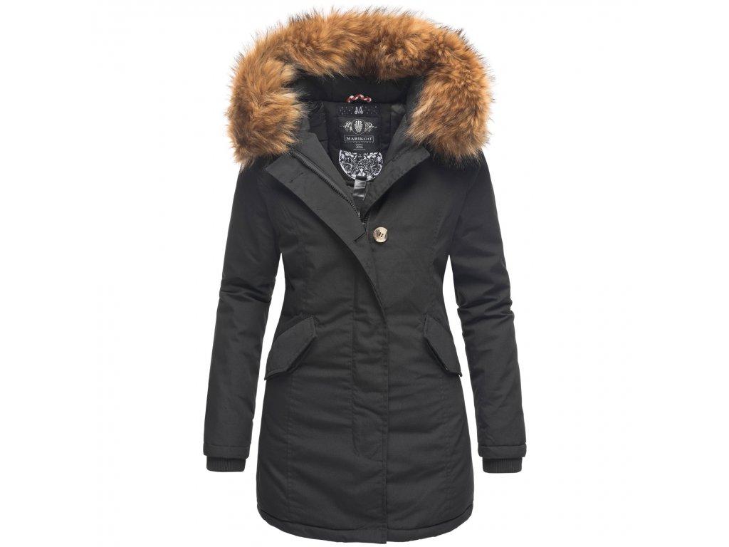 Dámska zimná bunda Karmaa Marikoo - BLACK