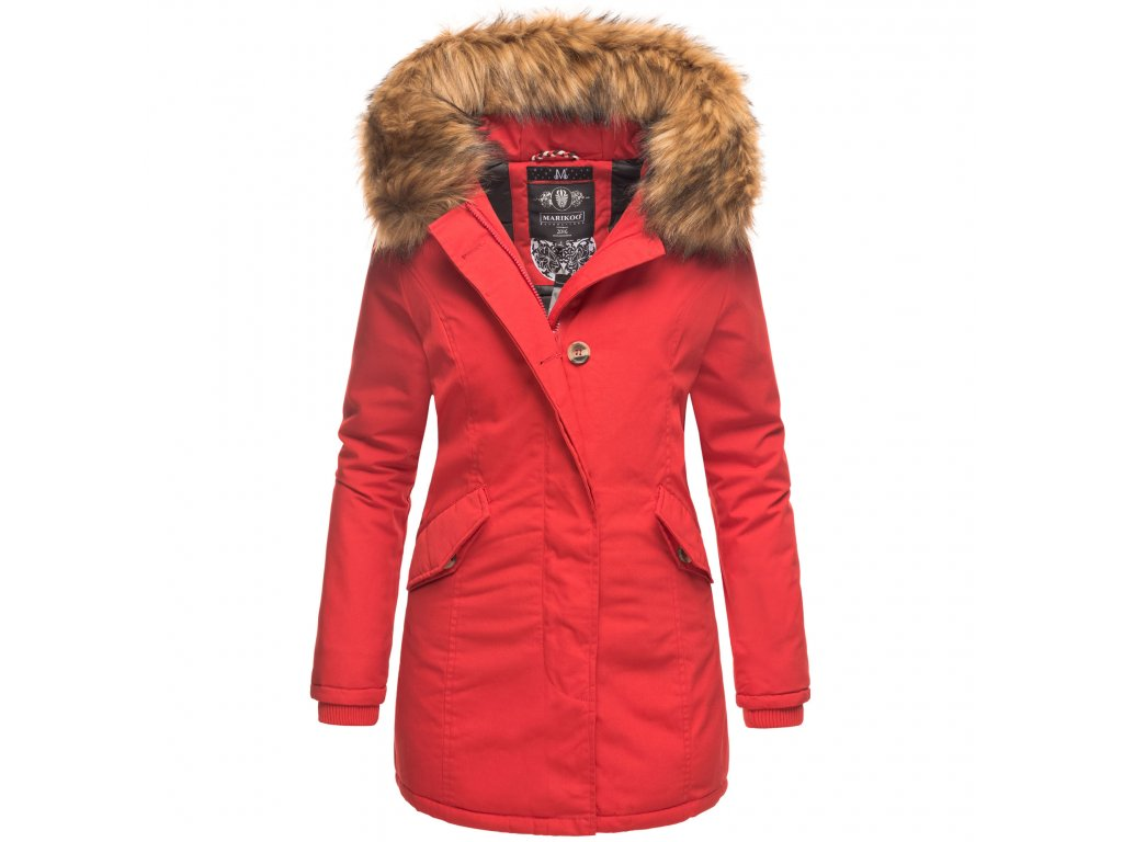 Dámska zimná bunda Karmaa Marikoo - RED