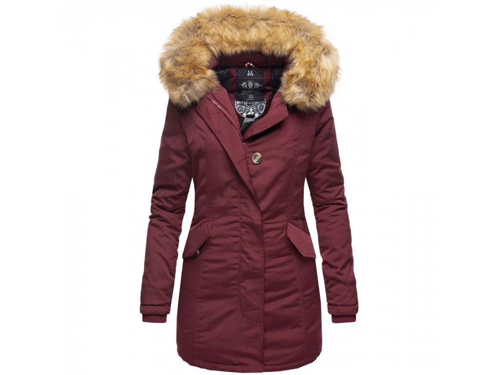 Dámska zimná bunda Karmaa Marikoo - WINE