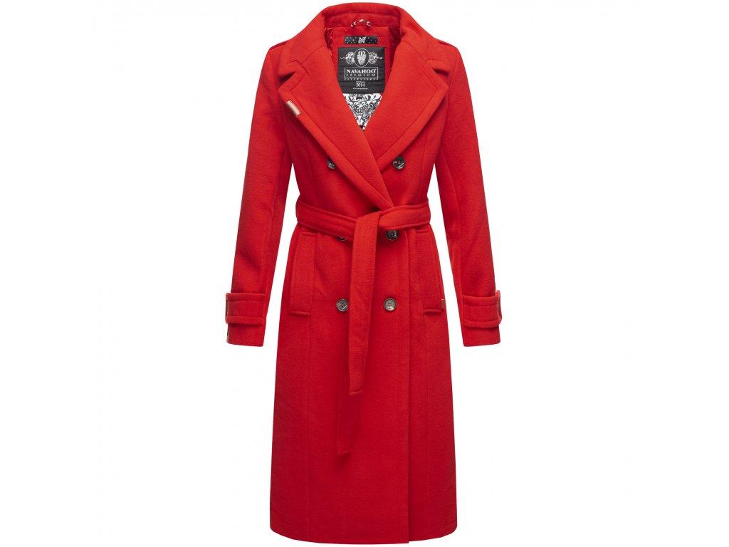 Dámsky zimný kabát dlouhý Arnaa Navahoo - RED