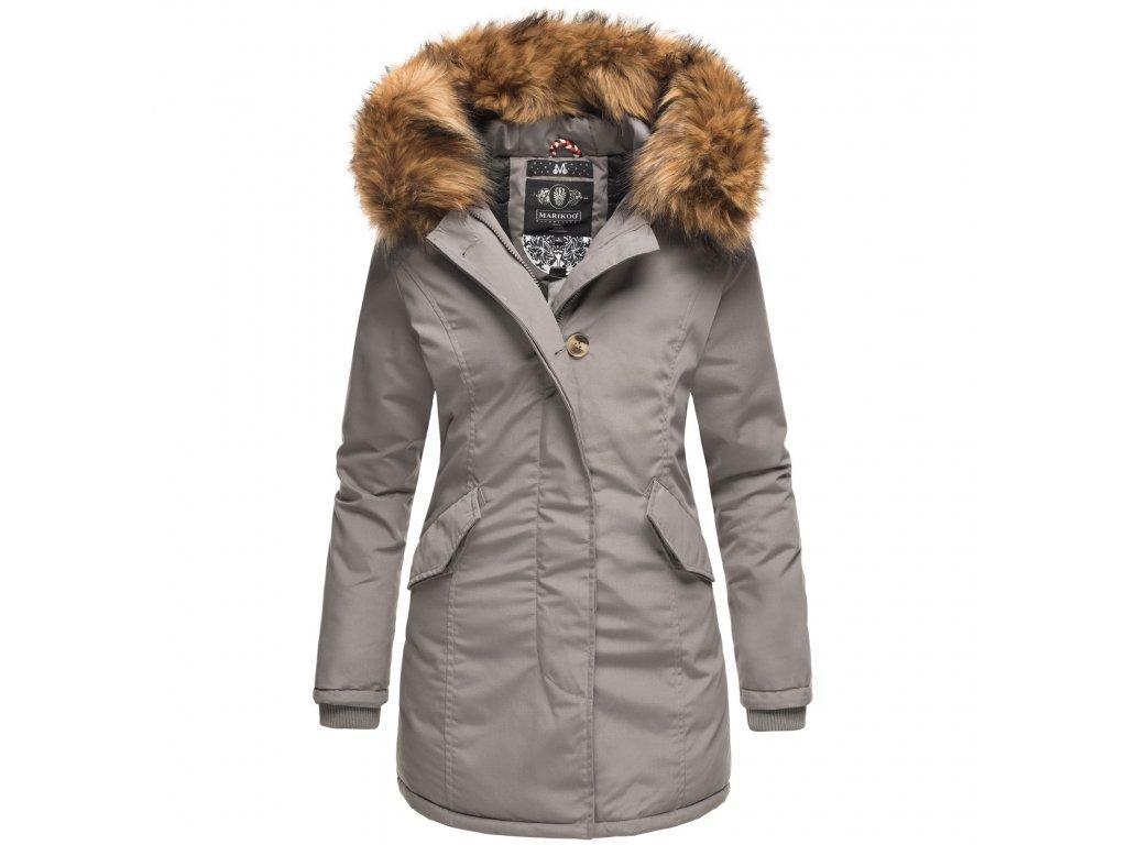 Dámska zimná bunda Karmaa Princess Marikoo - GREY