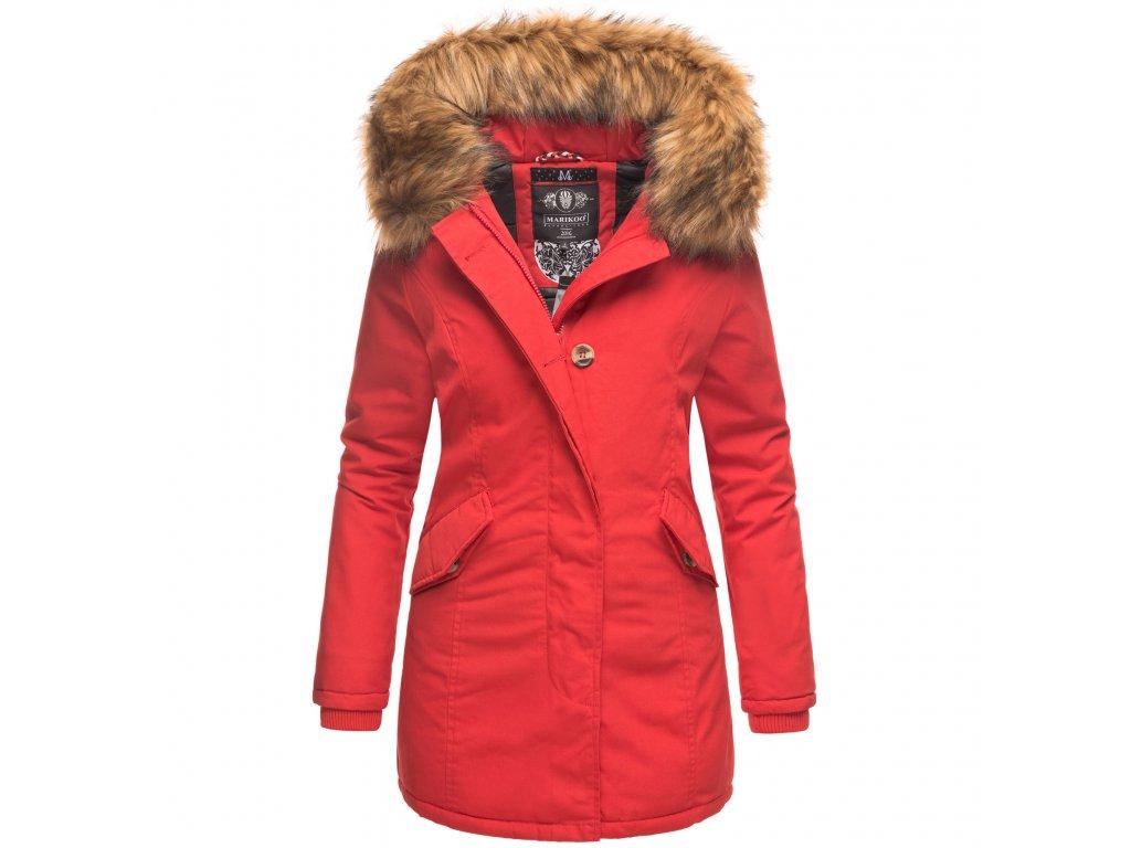 Dámska zimná bunda Karmaa Princess Marikoo - RED