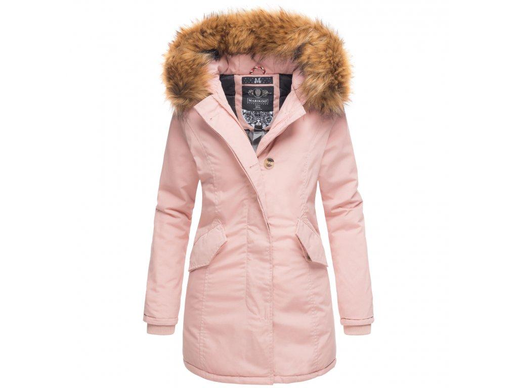 Dámska zimná bunda Karmaa Princess Marikoo - ROSE