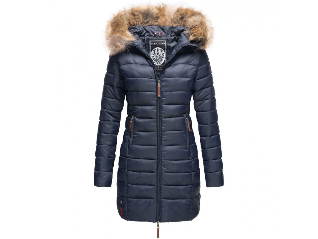 Dámska prechodová bunda s kapucňou ROSE 110 Marikoo - BLUE