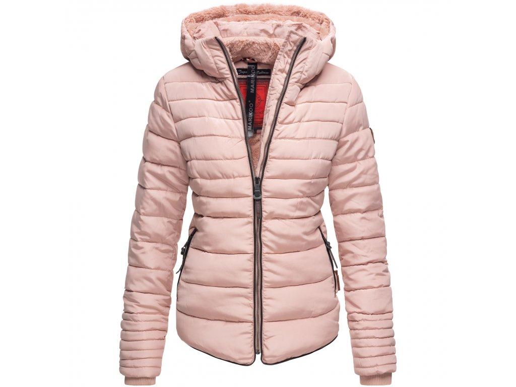 Dámska zimná bunda s kožušinkou Amber Marikoo - ROSE