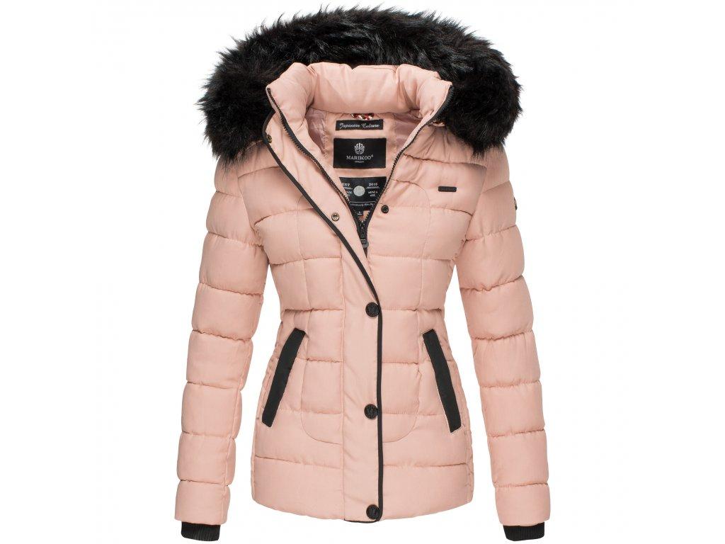 Dámska zimná bunda s kapucňou Unique Marikoo - ROSE