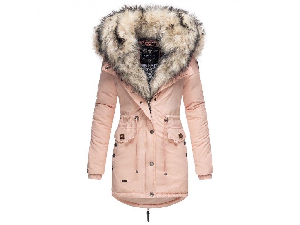 Dámska zimná bunda s kožušinkou Sweety Navahoo - ROSE