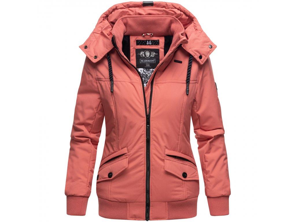 Dámska zimná bunda Sumikoo Marikoo - DARK CORAL