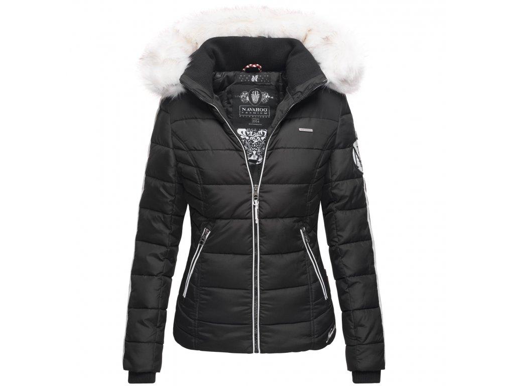 Dámska zimná bunda Khingaas Navahoo - BLACK