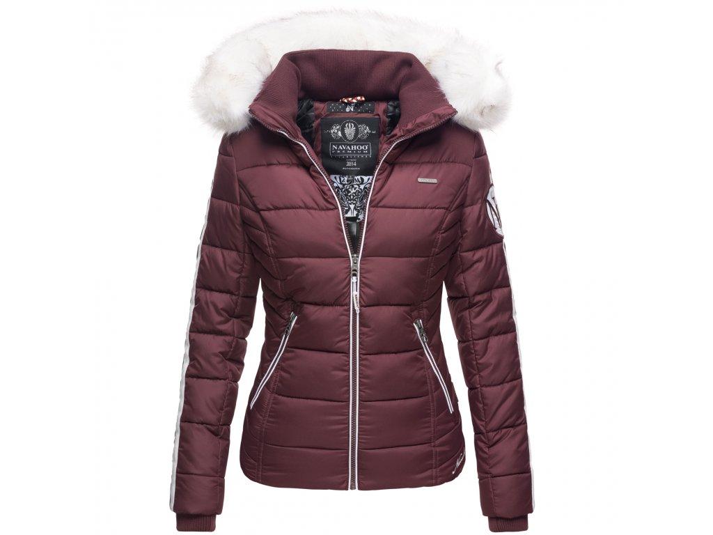 Dámska zimná bunda Khingaas Navahoo - WINE