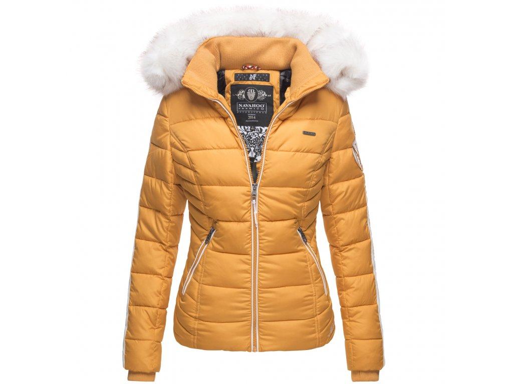 Dámska zimná bunda Khingaas Navahoo - YELLOW
