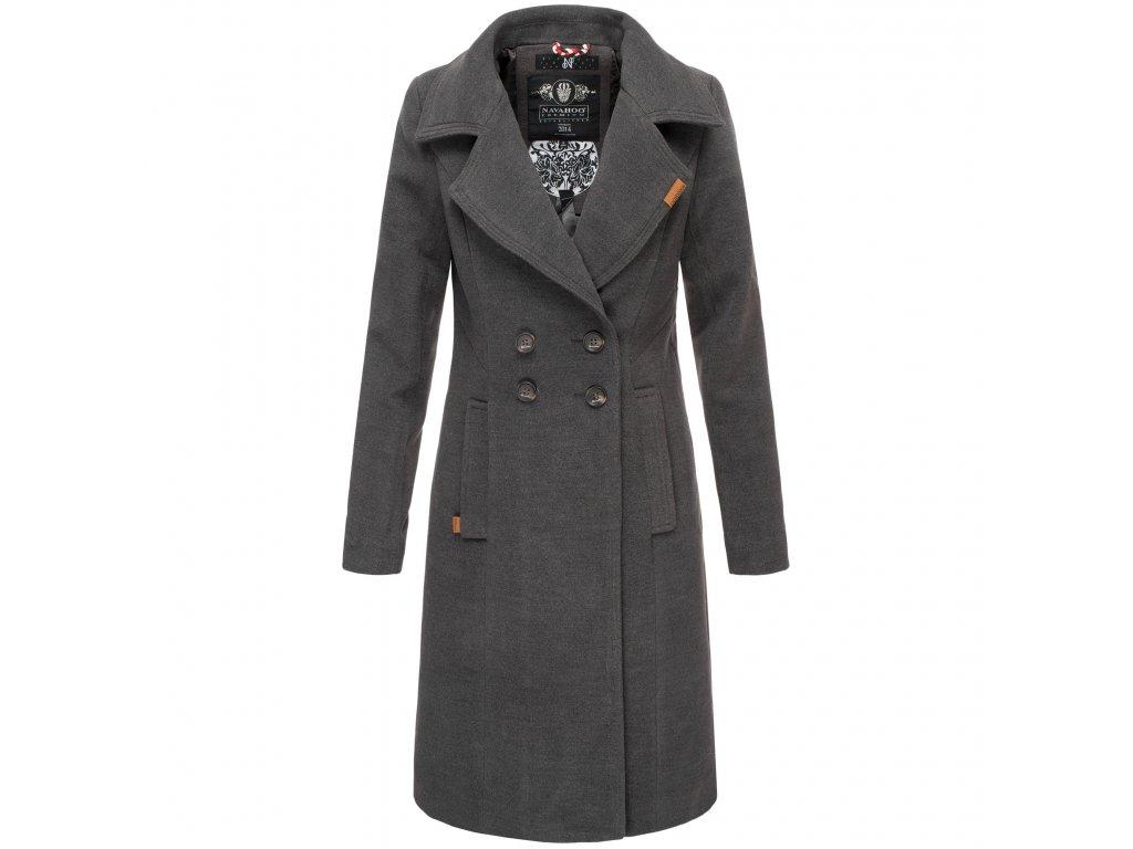 Dámsky zimný kabát Wooly Navahoo - ANTRACITE