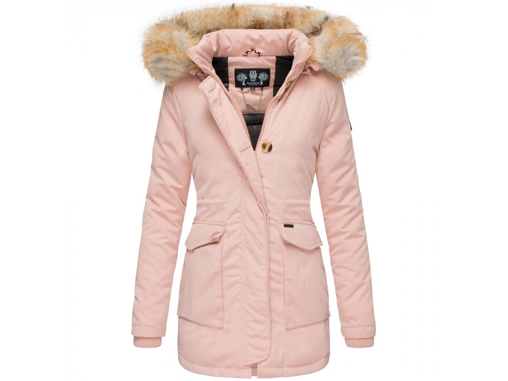 Dámska zimná bunda s kapucňou Schneeengel Navahoo 2019 - ROSE