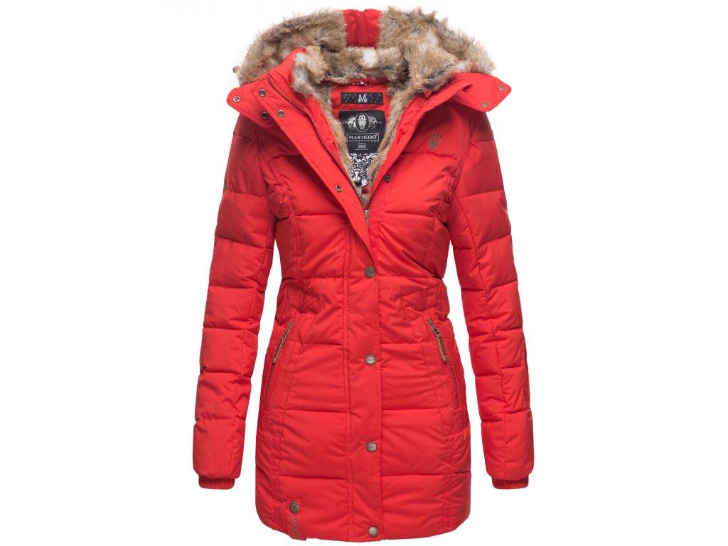Dámska zimná bunda Lieblings Jacke Premium Marikoo - RED