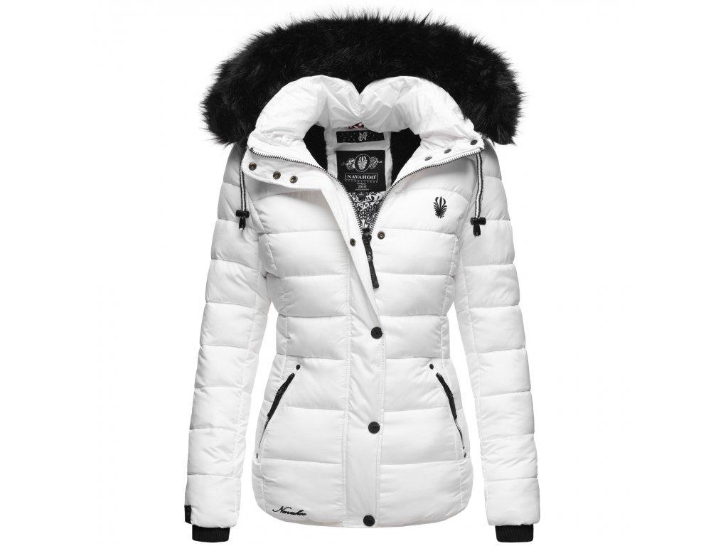 Dámska zimná bunda Zuckerbiene Navahoo - WHITE