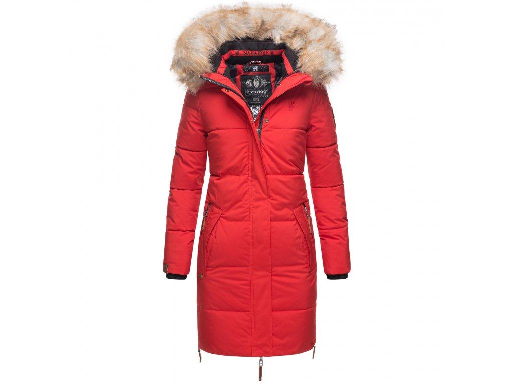 Dámska zimná bunda Halina Navahoo - RED