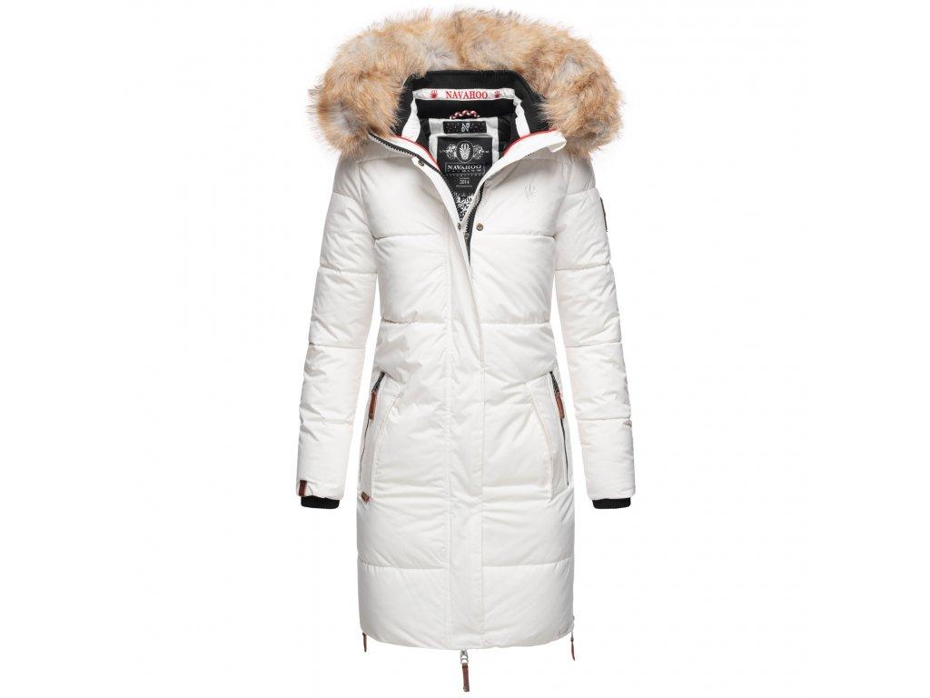 Dámska zimná bunda Halina Navahoo - WHITE
