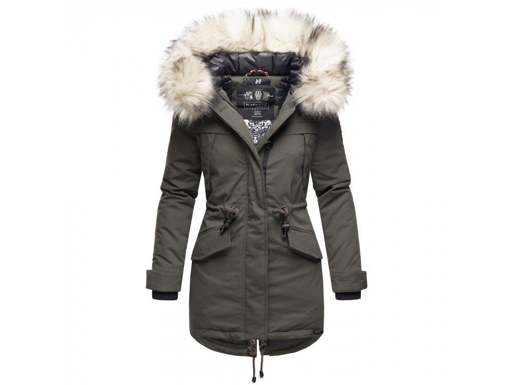 Dámska zimná dlhá bunda LadyLike Navahoo - Antracite