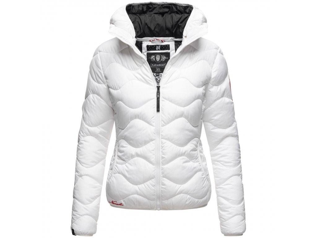 Dámska zimná bunda KeyColor Navahoo - WHITE