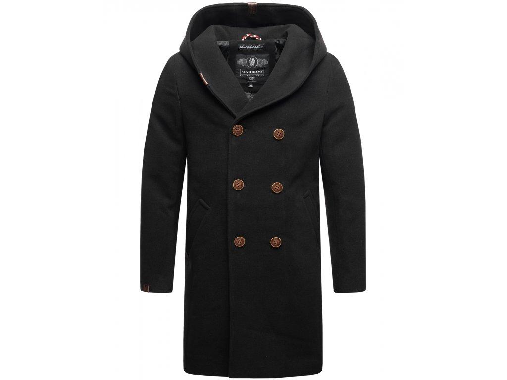Pánsky zimný kabát iruka Marikoo - BLACK