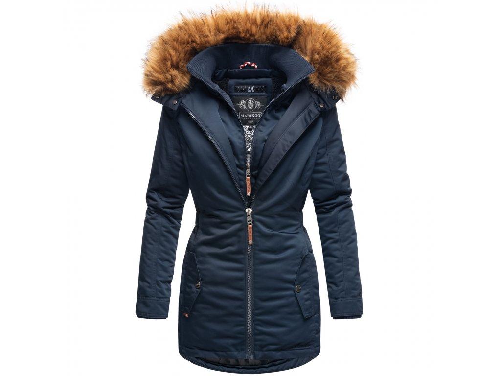 Dámska zimná bunda / kabát Sanakoo Marikoo - NAVY