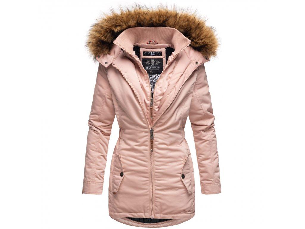 Dámska zimná bunda / kabát Sanakoo Marikoo - ROSE