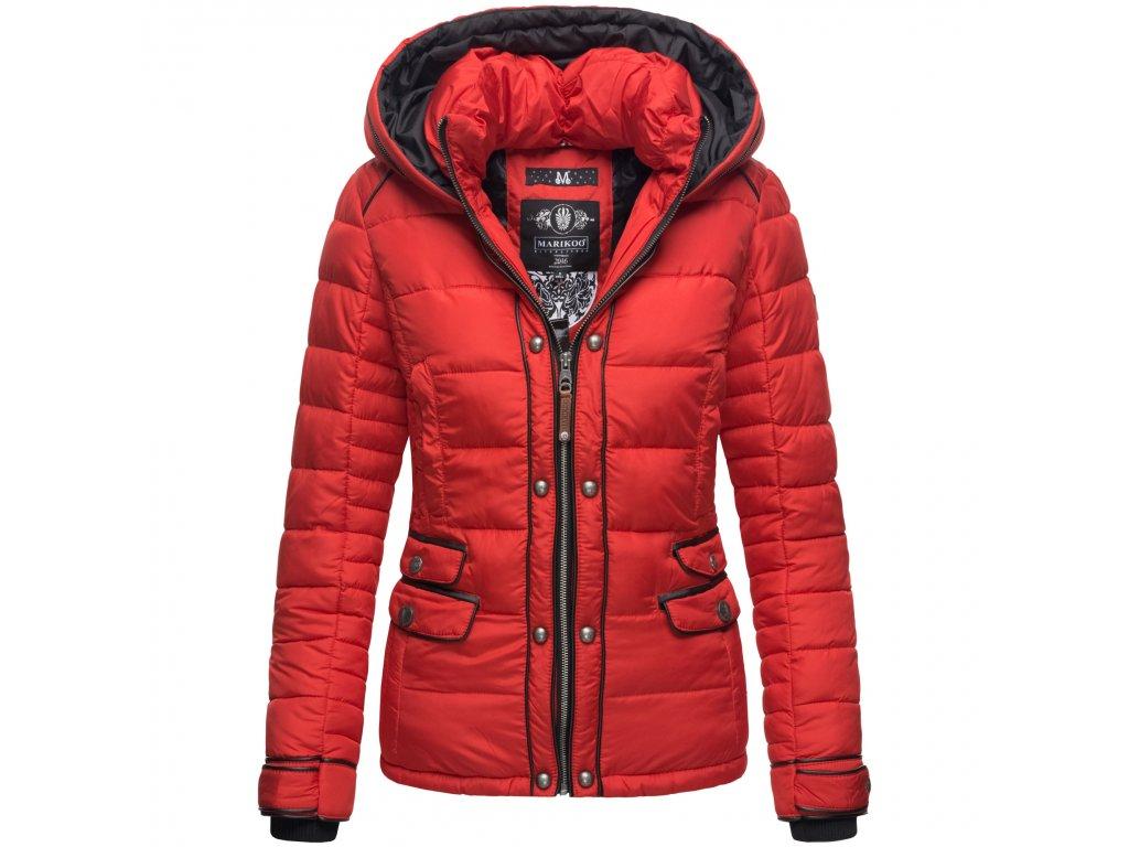Dámska zimná bunda Hasimausi Marikoo - RED