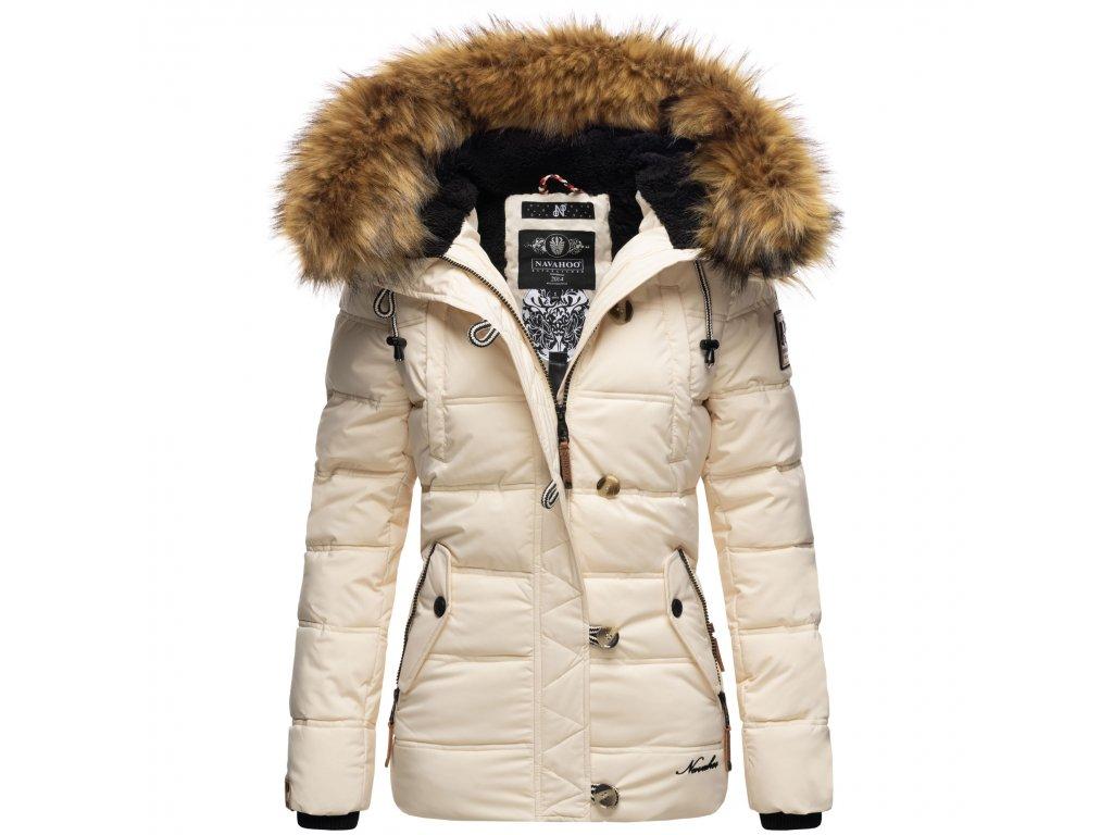 Dámska zimná bunda Zoja Navahoo - BEIGE